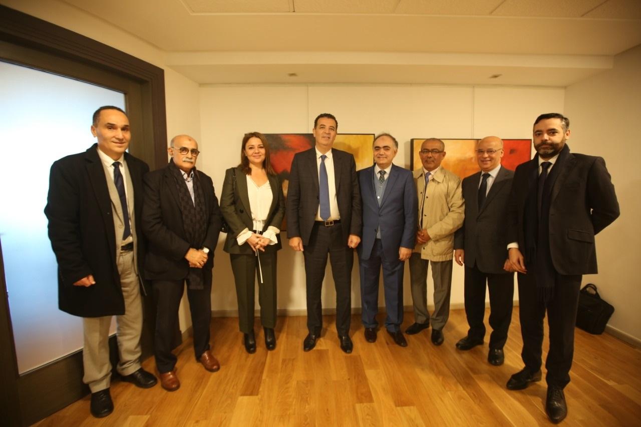 Rencontre de la FENAGRI avec Monsieur Chakib Alj, Candidat à l'élection présidentielle de la CGEM